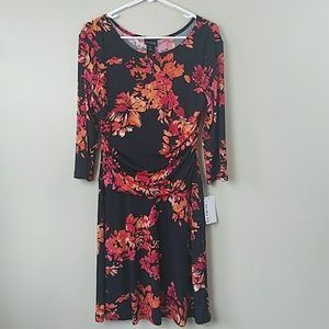 NWT En Focus Studio Floral Dress